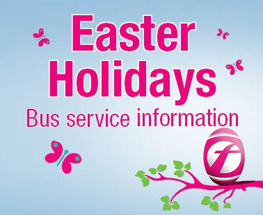 Easter Holiday bus service information