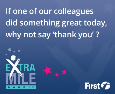 If one of our colleagues did something great today, why not say 'thank you'?