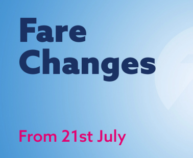 Our Fares are Changing