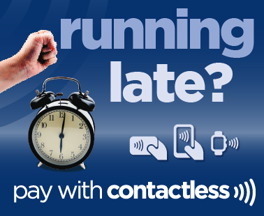 pay with contactless on all of our buses