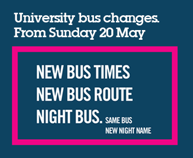 University of York buses, changes happening May