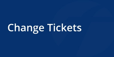 Image for 'Change Tickets'