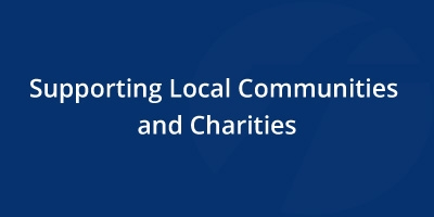 Image for 'Supporting Local Communities and Charities'