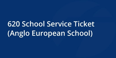 Image for '620 School Service Ticket [Anglo European School]'