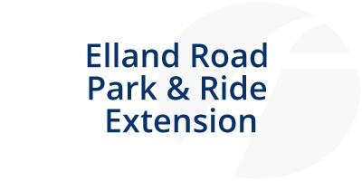 Image for 'Elland Road Park & Ride Extension - 2019'
