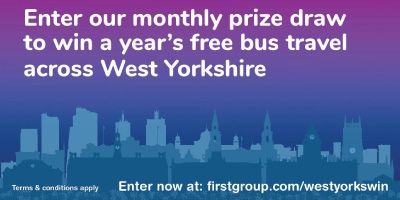 Image for 'WIN free travel across West Yorkshire'