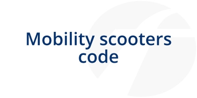 Image for 'Mobility Scooters Code'
