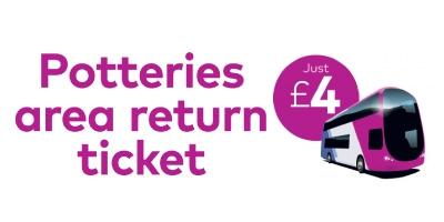Image for 'Potteries return ticket'