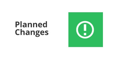 Image for 'Planned changes'