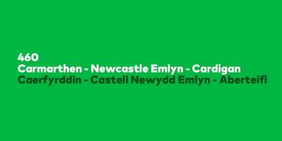 Image for 'Cyswllt TrawsCymru Connect 460'