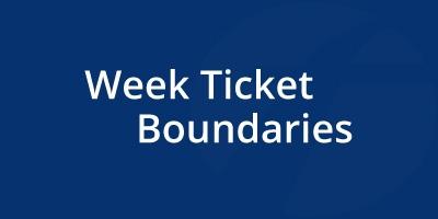 Image for 'Week Ticket Boundaries'