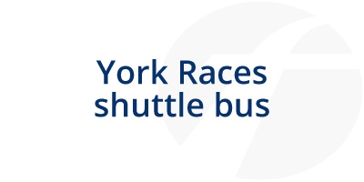 Image for 'York Races shuttle bus'