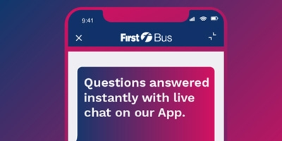 Image for 'Live Chat on our App'