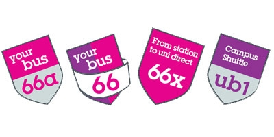 Image for 'Your bus 66 and University services'