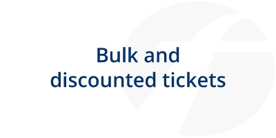 Image for 'Bulk and discounted tickets'